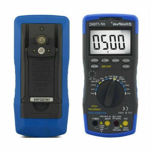 Multimeter 1000V DC AC Current Circuit Tester Meters Rang