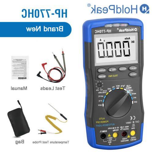 Multimeter 1000V Current Voltmeter Circuit Meters Digital