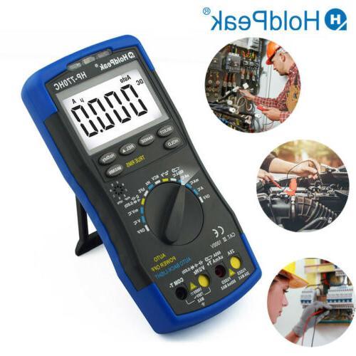 Multimeter 1000V DC Current Meters Auto