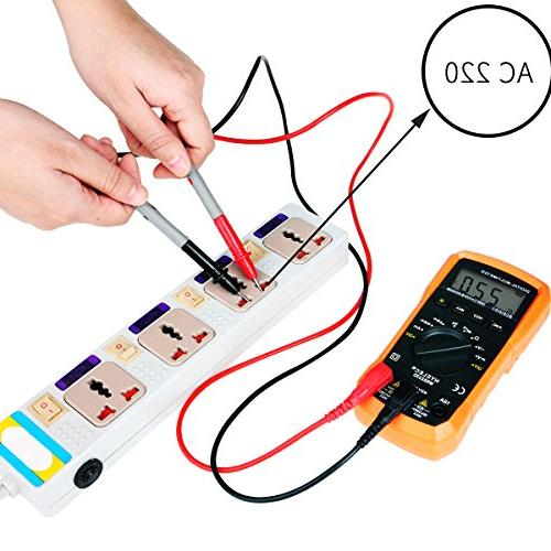 Crenova MS8233D Auto-Ranging Multimeter Home with Backlight