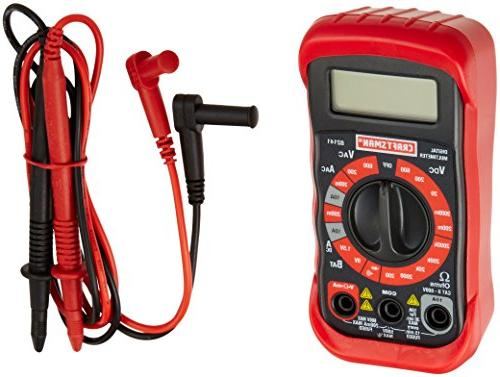 Craftsman 34-82141 Digital Multimeter with Functions and 20 Ranges