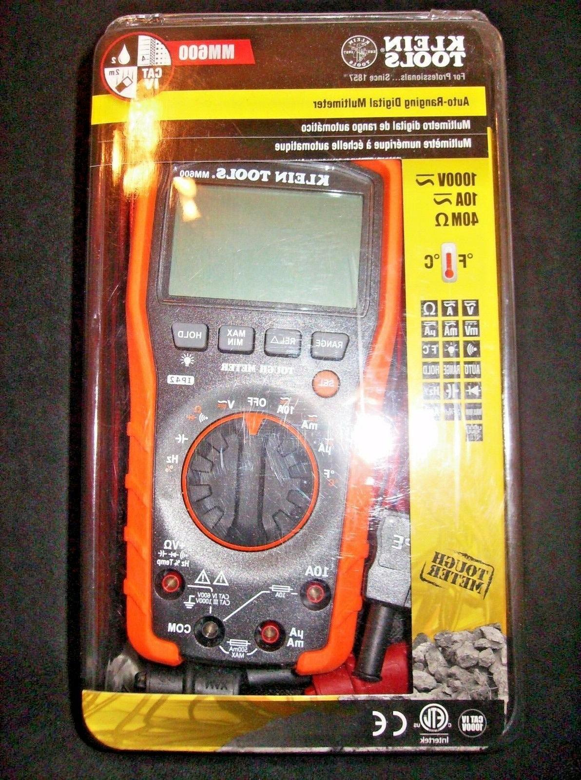 new mm600 digital multimeter auto ranging 1000v