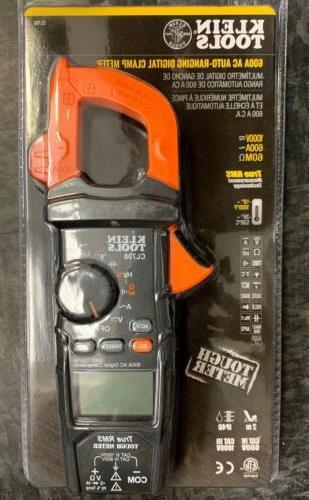 nib cl700 600a ac auto ranging digital