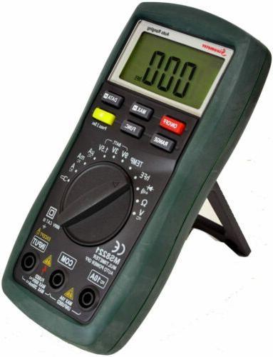 Sinometer Auto/Manual Digital Multimeter, DC Voltage Current Tester
