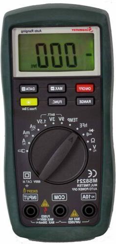 Sinometer Ranging Digital Multimeter, Current Tester