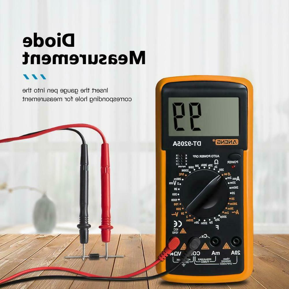 True RMS LCD Auto AC/DC Tester Meter Resistance