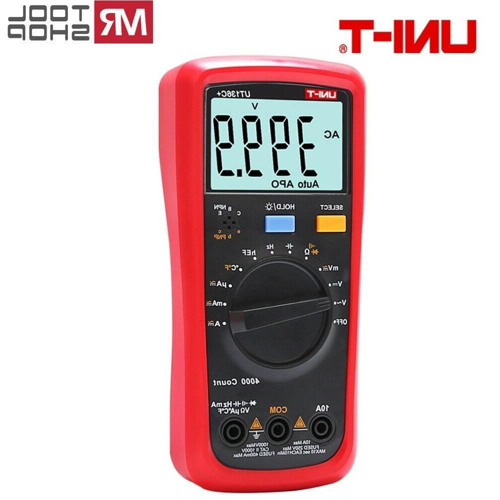 UNI-T UT136C+ Multimeter LCD Auto DMM Ohmmeter test