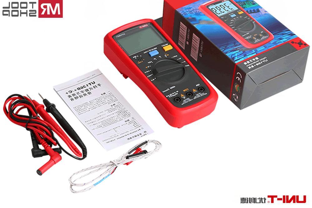 UNI-T Digital Multimeter LCD Auto AC/DC Ohmmeter Temp test