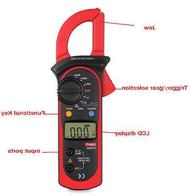 Digital Meter Ohm Voltmeter Tester US