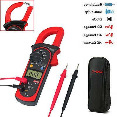 Digital Multimeter Ohm Voltmeter Tester AC Current