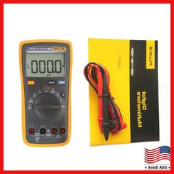 New FLUKE 15B+ F15B+ Digital Multimeter Meter Auto Range AC