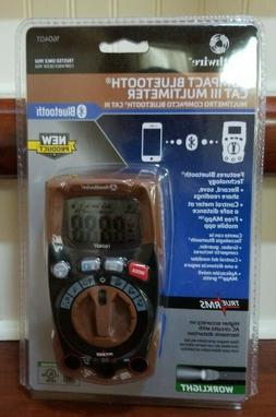 NEW Southwire 16040T Compact Bluetooth CAT III Multimeter Vo