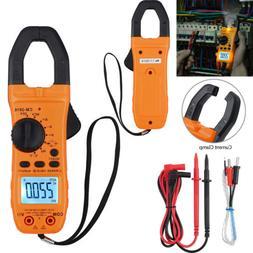 Digital Clamp Meter Tester TRMS NCV AC/DC Auto Range Multime
