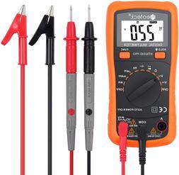 PRO Digital Multimeter Fluke Meter Volt Tester Electric OHM