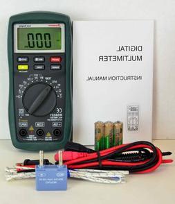 Sinometer Auto/Manual Ranging Digital Multimeter, AC DC Volt