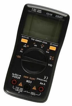 True-RMS Digital Multimeter Auto-Ranging 9999 Counts Pocket