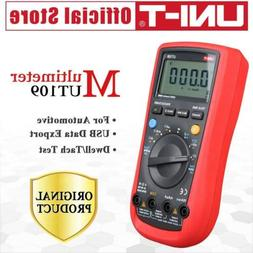 UNI-T UT109 Handheld Automotive Multipurpose Meters Auto Ran
