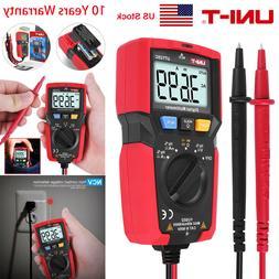 UNI-T UT125C Handheld Digital Multimeter Auto Range OHM AMP