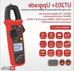 UNI-T UT203+Digital Clamp Meter True RMS Multimeter Auto DC