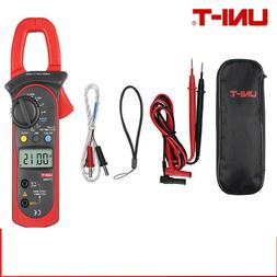 UNI-T UT204A Digital Clamp Meter Auto multimeter Volt Temp F